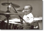 Little Boy Drum Playing